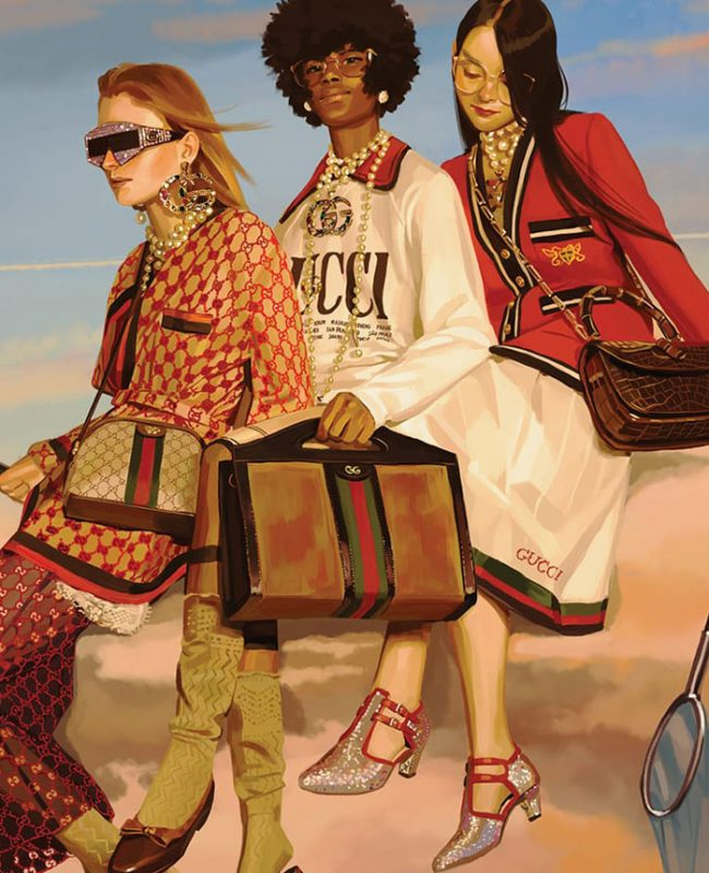 Gucci Equilibrium, sustainable brands, Gucci, luxury brands