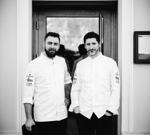 Chef de Cuisine Christian Schagerl and Managing Director Paul Ivic