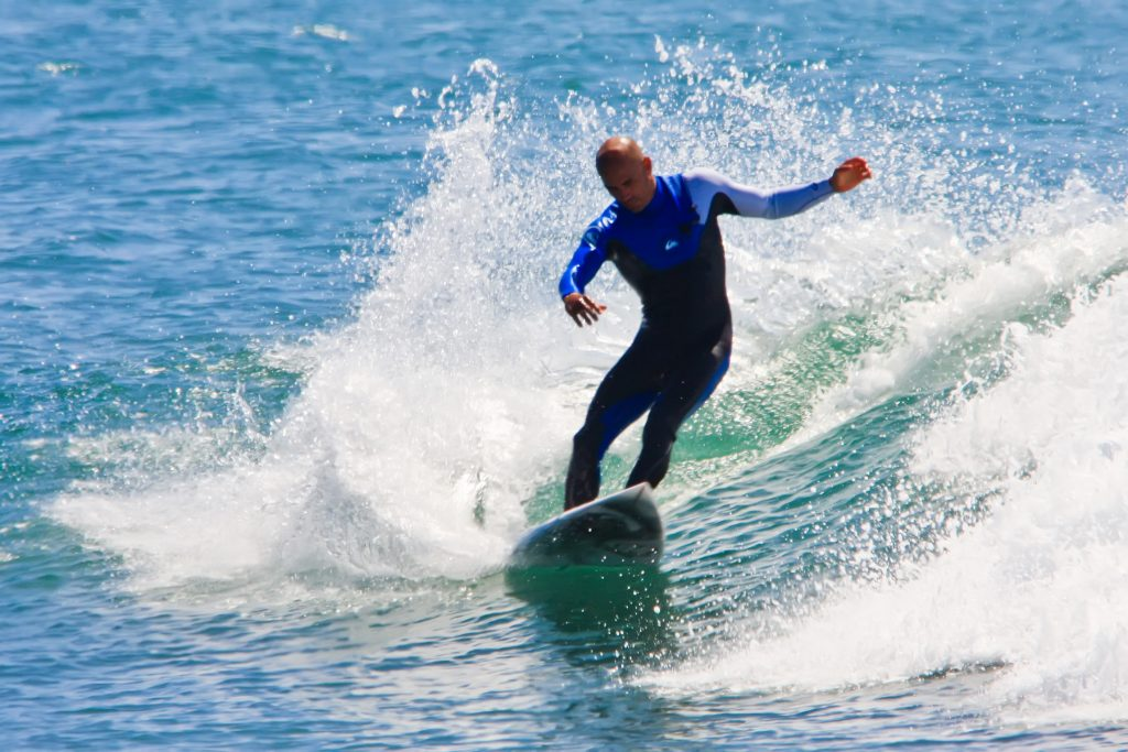 Top athletes championing the environment, Kelly Slater