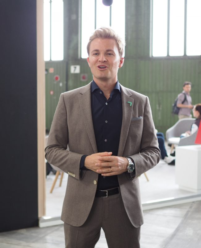 Top athletes are committed to the environment, Nico Rosberg