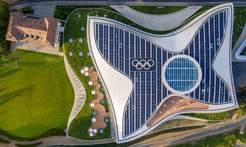 Top athletes championing the environment, Olympic HQ