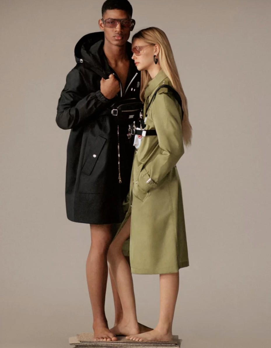 Re-burberry collection from the sustainable luxury brand