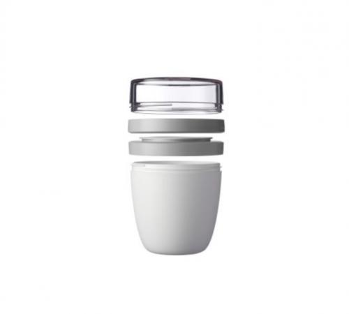 Nachhaltige Küchenhelfer weißer Becher