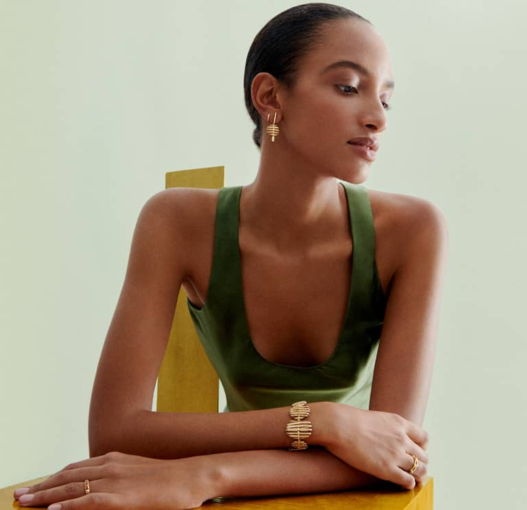 Annoushka ethical jewelry from fair trade