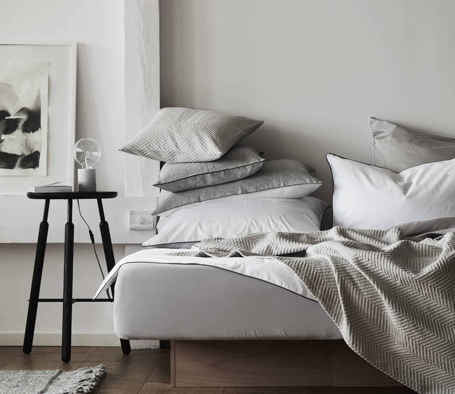 Urbanara beautiful bed linen made of organic cotton
