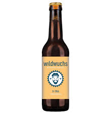 organic beer bottle from wild growth