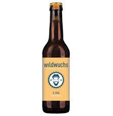 bio bier flasche von wildwuchs
