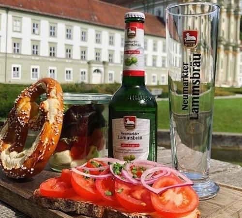 organic beer from lammsbräu