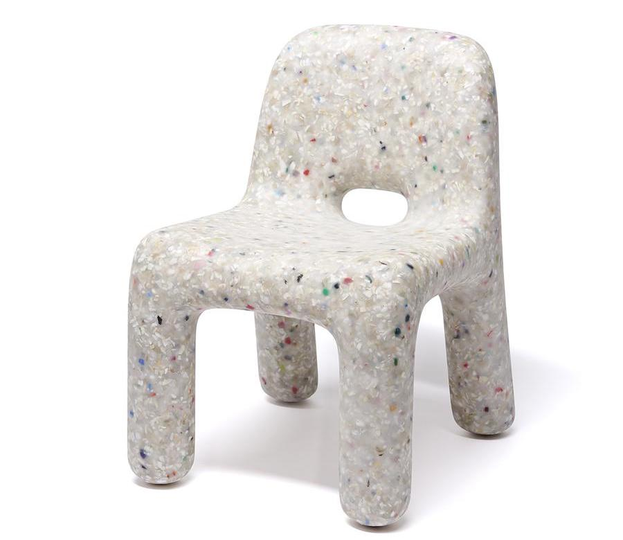 ecoBirdy children's chair in white