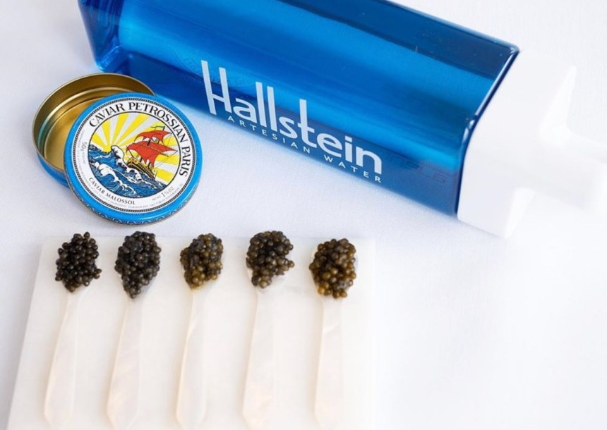 Hallstein water of course and pure quality water