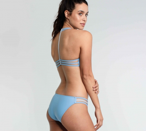 Sustainable bikini in blue