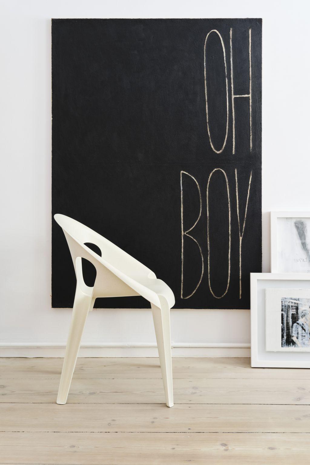 Konstantin Grcic designer chair in white