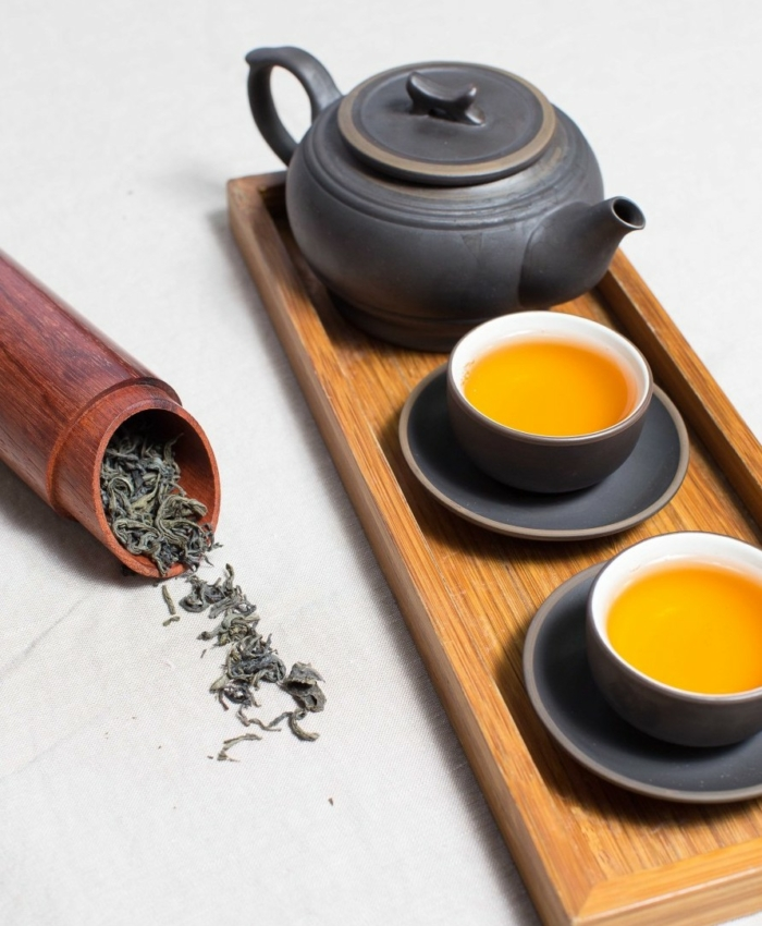 Drainage tea to detoxify