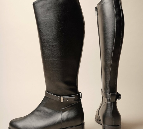 leather-free black boots