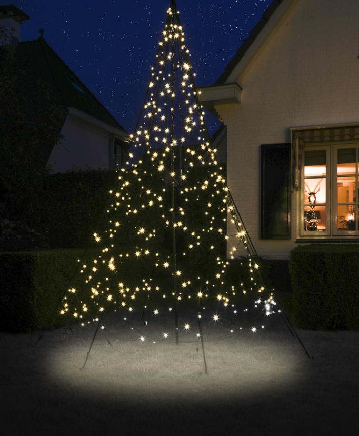 Artificial Christmas tree like real - Fairybell LED Christmas tree