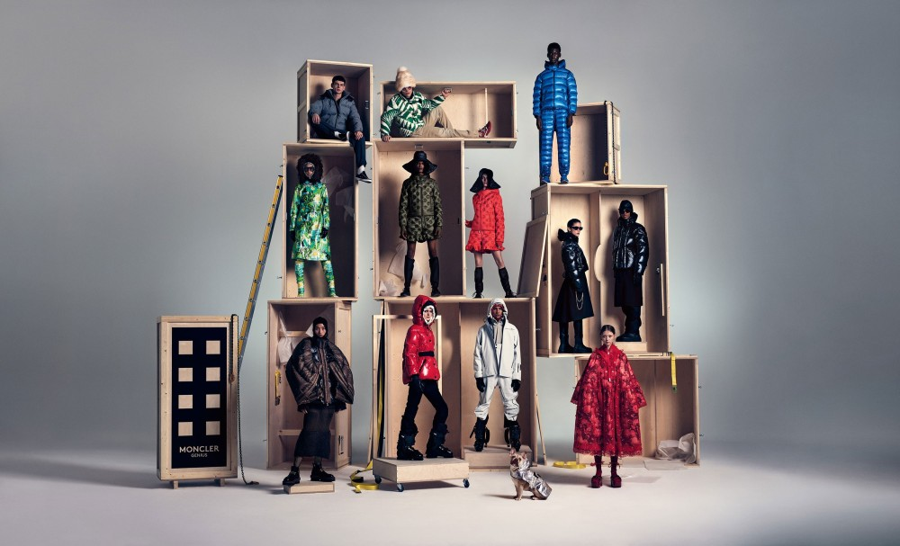 moncler sustainable luxury brand collection