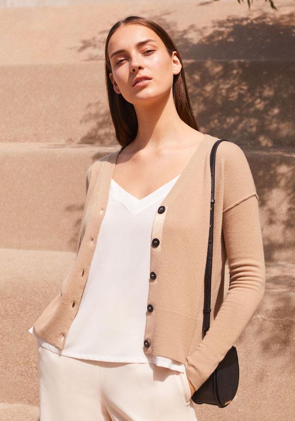 Kleidung aus Bio Cashmere-Wolle und nachhaltiges Cashmere