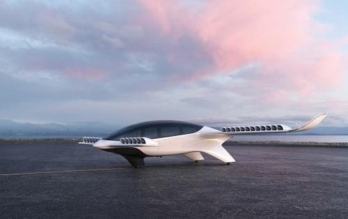 Urban Air Mobility Lilium Jet