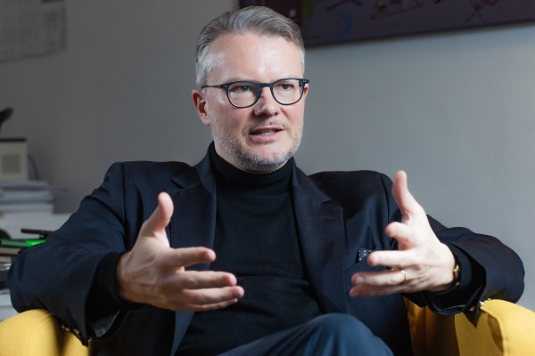 Prof. Dr. Philipp Bouteiller im Gespräch