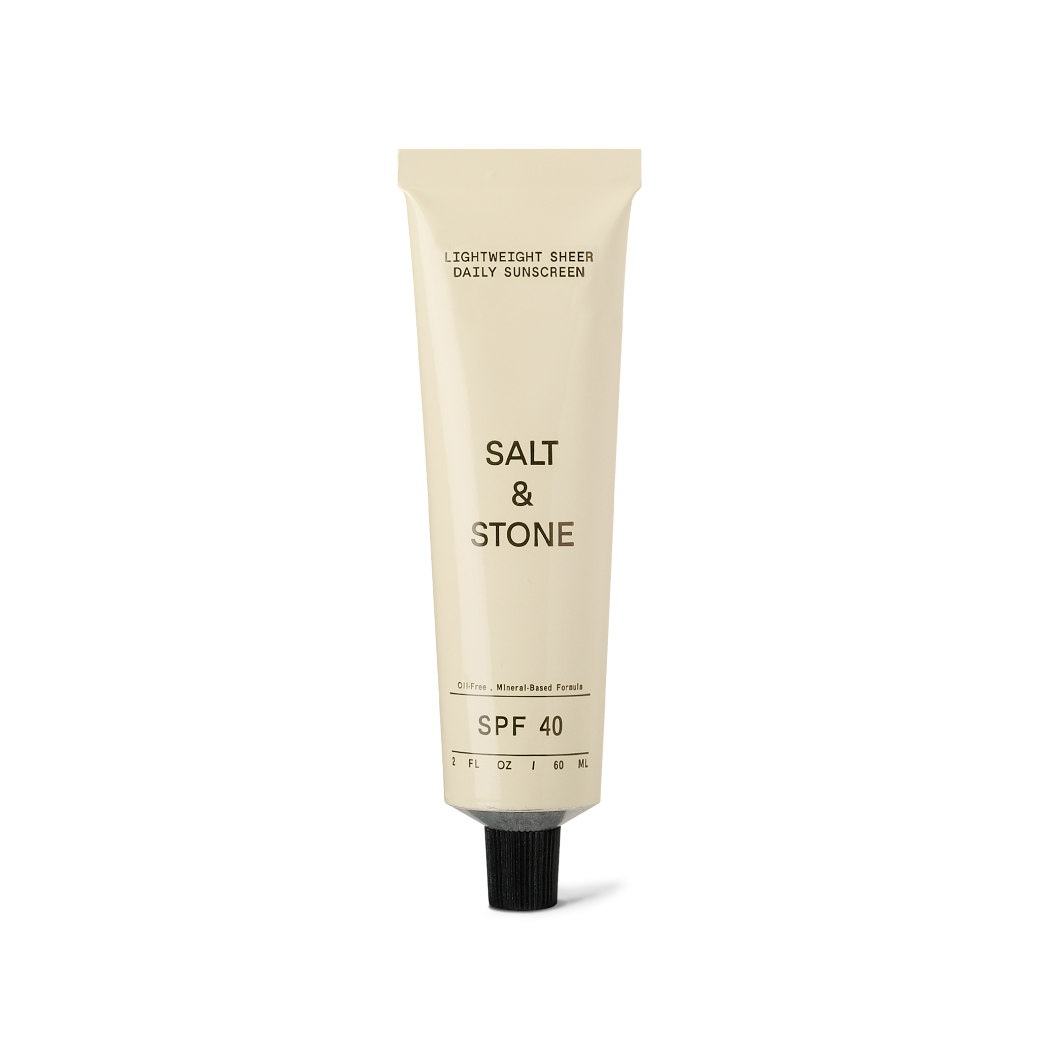 Bottle of the Salt and Stone Sunscreen Natural Lightweight Sheer Daily