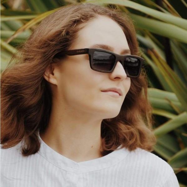 Woman wears LaBante sunglasses