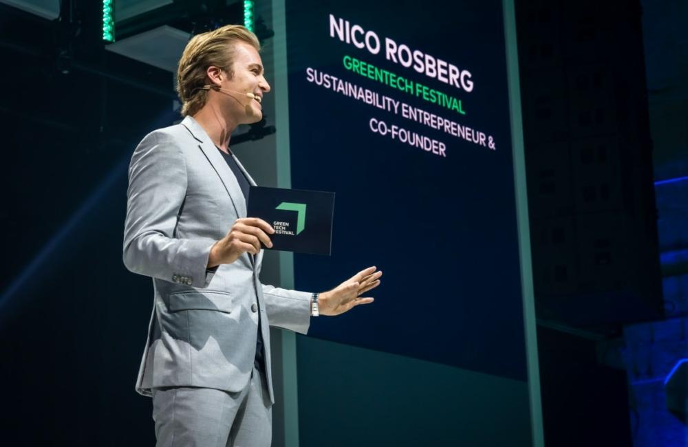 Nico Rosberg greentech festival