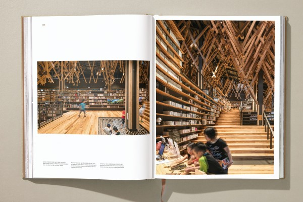 Kuma Yusuhara Community Library in Japan