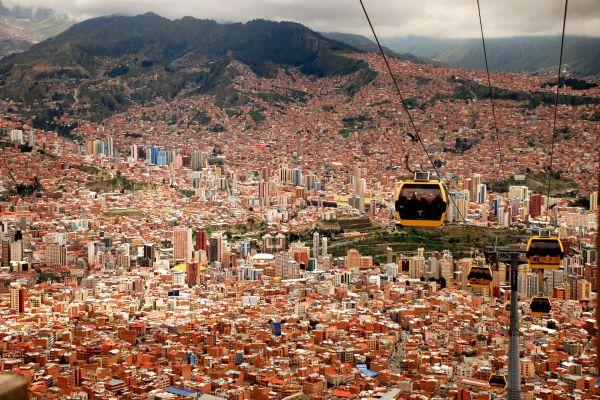 Nachhaltige Stadtentwicklung La Paz Seilbahn