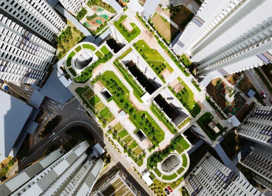 Nachhaltige Stadtentwicklung, Green city Ausschnitt