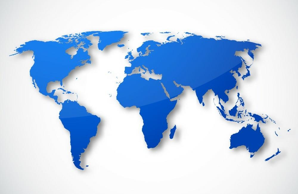 GDP loss world map