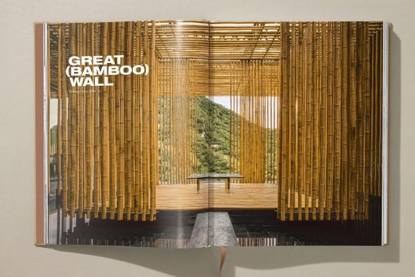 Kengo Kuma side opening Great Bamboo Wall