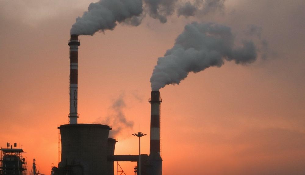 Umweltbelastung Fabrik