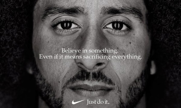 Dream Crazy campaign by Nike with Colin Kaepernick